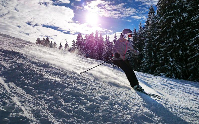 Pravé italské lyžování